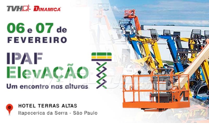 TVH-Dinamica participa do principal evento de plataformas aéreas realizado pela IPAF em fevereiro