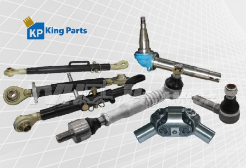 TVH-Dinamica oferece peças para tratores da marca King Parts