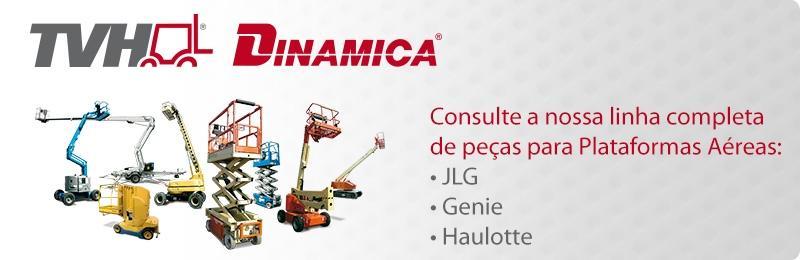 TVH - Dinamica: única no aftermarket a fornecer peças para plataformas aéreas
