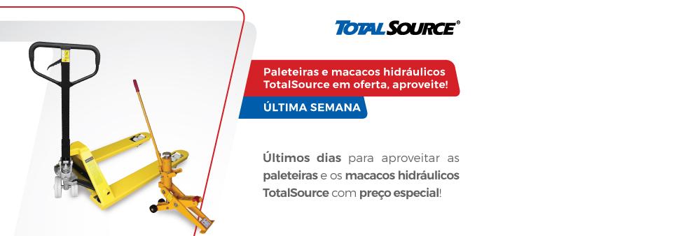 Paleteiras e macacos hidráulicos TotalSource