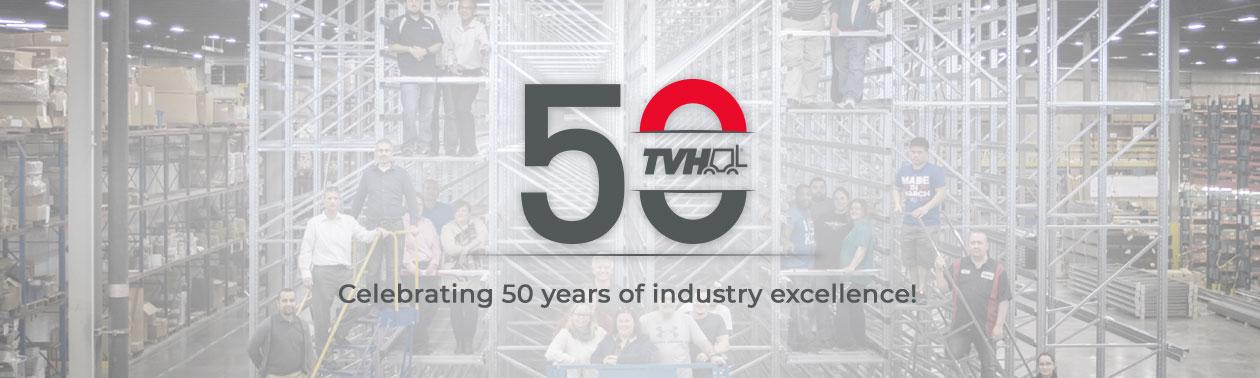 Aniversário TVH - 50 anos