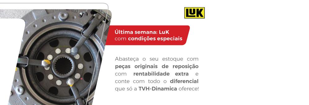 Peças originais LuK, você encontra na TVH-Dinamica